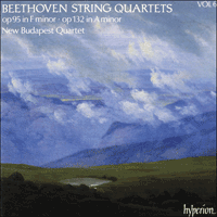 Cover of CDA66406 - Beethoven: String Quartets Opp 95 & 132