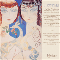 CDA66410 - Stravinsky: Les Noces & other choral works