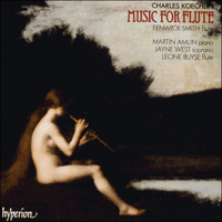 Cover of CDA66414 - Koechlin: Music for flute