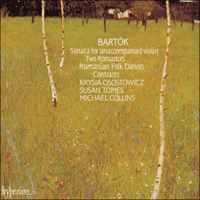 Cover of CDA66415 - Bart�k: Sonata, Contrasts & Rhapsodies