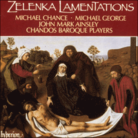 Cover of CDA66426 - Zelenka: Lamentations