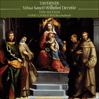 Cover of CDA66427 - Taverner: Missa Sancti Wilhelmi & other sacred music
