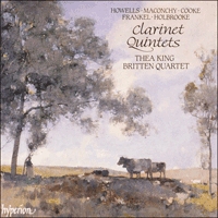Cover of CDA66428 - Clarinet Quintets