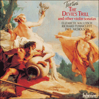 Cover of CDA66430 - Tartini: The Devil's Trill & other violin sonatas
