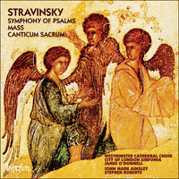 Cover of CDA66437 - Stravinsky: Mass & Symphony of Psalms