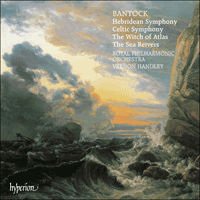 Cover of CDA66450 - Bantock: Hebridean & Celtic Symphonies