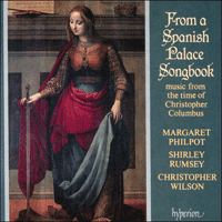 Cover of CDA66454 - From a Spanish Palace Songbook