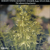 Cover of CDA66458 - Mozart: String Quartets, K499 & K589