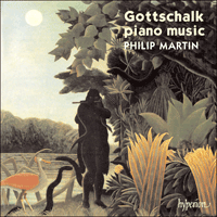 Cover of CDA66459 - Gottschalk: Piano Music, Vol. 1