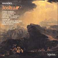 Cover of CDA66461/2 - Handel: Joshua