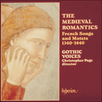 Cover of CDA66463 - The Medieval Romantics