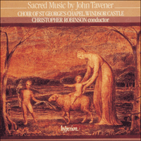 Cover of CDA66464 - Tavener: Sacred Music