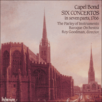 Cover of CDA66467 - Bond: Six Concertos in seven parts
