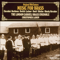 Cover of CDA66470 - Original 19th-century Music for Brass
