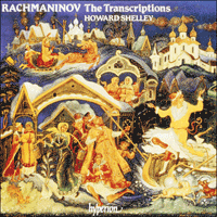 Cover of CDA66486 - Rachmaninov: The Transcriptions