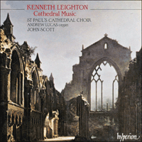 Cover of CDA66489 - Leighton: Cathedral Music
