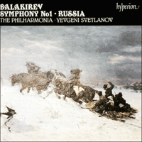 Cover of CDA66493 - Balakirev: Symphony No 1 & Russia