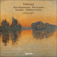Cover of CDA66495 - Debussy: Suite bergamasque, Estampes, Children's Corner & Pour le piano