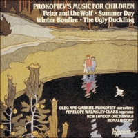 Cover of CDA66499 - Prokofiev: Peter and the Wolf & other music for children