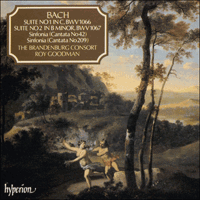 Cover of CDA66501 - Bach: Orchestral Suites Nos 1 & 2