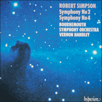 Cover of CDA66505 - Simpson: Symphonies Nos 2 & 4