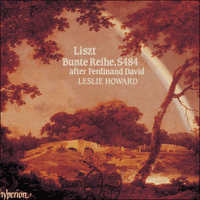 Cover of CDA66506 - Liszt: The complete music for solo piano, Vol. 16 � Bunte Reihe