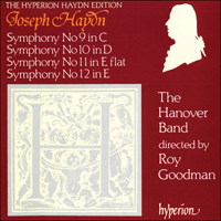 Cover of CDA66529 - Haydn: Symphonies Nos 9-12