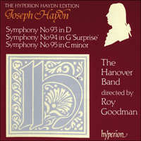 Cover of CDA66532 - Haydn: Symphonies Nos 93-95