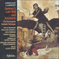 CDA66565 - Lambert: Summer's Last Will and Testament, The Rio Grande & Aubade h�ro�que