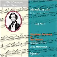 Cover of CDA66567 - Mendelssohn: Double Concertos
