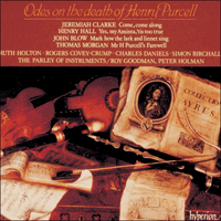 Cover of CDA66578 - Odes on the death of Henry Purcell