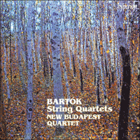 CDA66581/2 - Bart�k: String Quartets