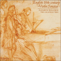 Cover of CDA66583 - English 18th-century Violin Sonatas