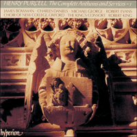 CDA66585 - Purcell: The Complete Anthems and Services, Vol. 1