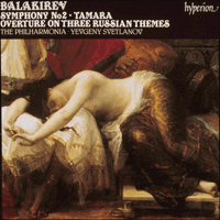 Cover of CDA66586 - Balakirev: Symphony No 2 & Tamara