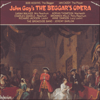 Cover of CDA66591/2 - Gay: The Beggar's Opera