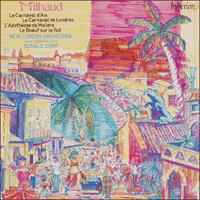 Cover of CDA66594 - Milhaud: Le Carnaval d'Aix & other works
