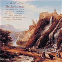 Cover of CDA66595 - Rossini: The String Sonatas