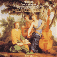 Cover of CDA66598 - Purcell: Odes, Vol. 8 � Come ye sons of Art