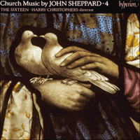 Cover of CDA66603 - Sheppard: Church Music, Vol. 4