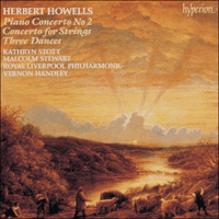 CDA66610 - Howells: Concertos & Dances