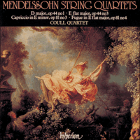 Cover of CDA66615 - Mendelssohn: String Quartets, Vol. 3