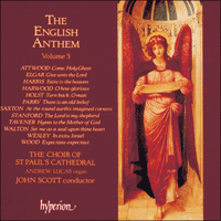 CDA66618 - The English Anthem, Vol. 3