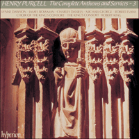 Cover of CDA66623 - Purcell: The Complete Anthems and Services, Vol. 3