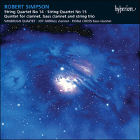 CDA66626 - Simpson: String Quartets Nos 14 & 15