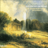Cover of CDA66633 - Handel: Six Concerti Grossi Op 3