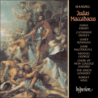 Cover of CDA66641/2 - Handel: Judas Maccabaeus
