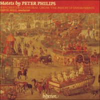 Cover of CDA66643 - Philips: Motets