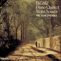 Cover of CDA66645 - Elgar: Quintet & Violin Sonata