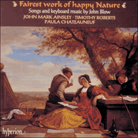 Cover of CDA66646 - Blow: Fairest Work of happy Nature